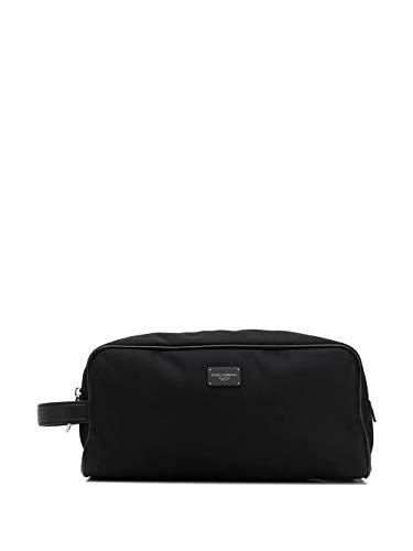 Luxury Fashion | Dolce E Gabbana Uomo BT0985AX75280999 Nero Poliammide Beauty Case | Primavera-estate 20