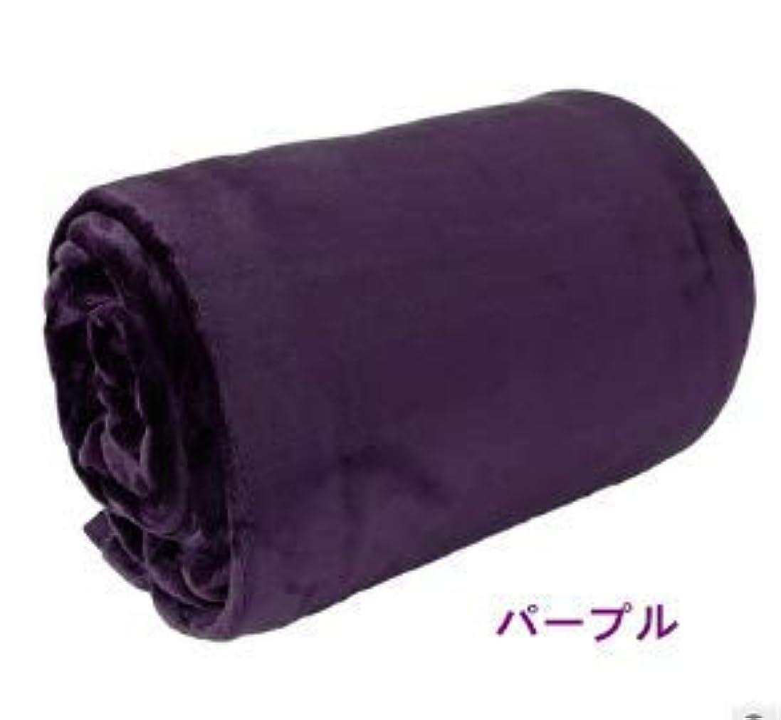 チョーク熟達した等しい毛布 マイクロファイバー セミダブル 厚手毛布 柔軟軽量 発熱効果 洗濯可能 静電防止 敬老の日プレゼント (パープル, 200x230cm)