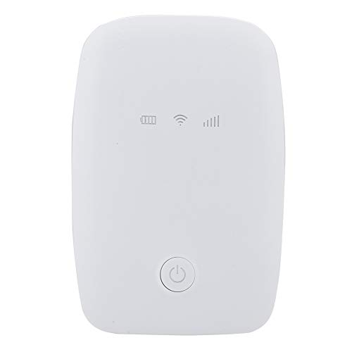 Shanrya Portable WiFi Long Battery Life WiFi Router for Outdoor Travelling(white)