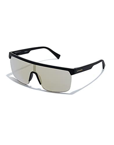HAWKERS Polar Gafas de Sol, Carbon Black Light Gold, Talla única Unisex Adulto