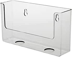 SOURCEONE.ORG Source One Premium Clear Counter Top Postcard Holder Display Fixture 6 Inch
