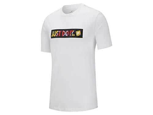 Nike Herren M NSW Tee Story Pack 9 Hemd, weiß, M