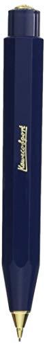 Kaweco Classic Sport Navy Druckbleistift 0.7mm HB I Minenbleistift aus hochwertigem Kunststoff in oktogonalem Acht Kant Design I Druckminenbleistift 11 cm I Druck-Bleistift nachfüllbar Blau