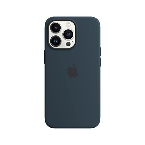 Apple SilikonHülle mit MagSafe (für iPhone 13 Pro) - Abyssblau