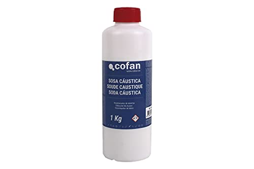 Sosa Cáustica Cofan | Envase 1 Kg | Limpieza Multiusos