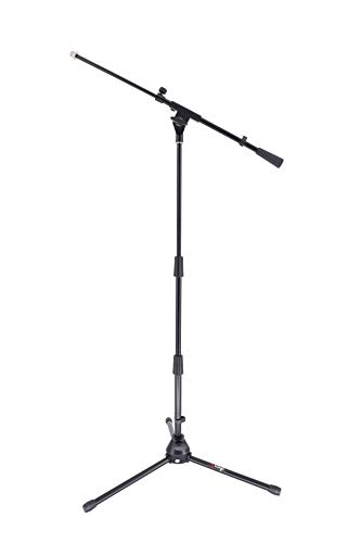Tlingt Portable Microphone Stand/Easygo Mic Stand with Telescoping Boom Arm