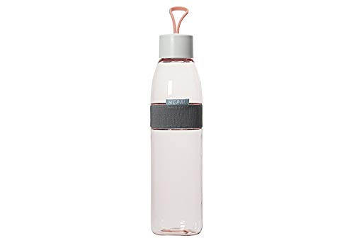Rosti Mepal 107778076700 Flasche, Ellipse, 700 ml, Kunststoff, Nordic Pink, 6,8 x 6,8 x 29,8