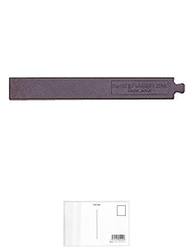 ぺんてる 油性ボールペン消しゴム 補充用消しゴム XZER5-1 【× 7 パック 】 + 画材屋ドットコム ポストカードA