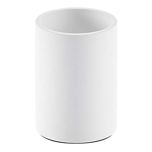 Stone BER Becher, weiß matt H 10cm Ø 8cm