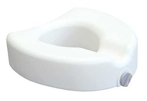moen raised toilet seats Lumex Locking Raised Toilet Seat, 4.5