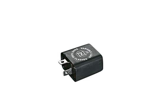 Highway Hawk - Relé intermitente para intermitente con bombillas de  21 W, 12 V