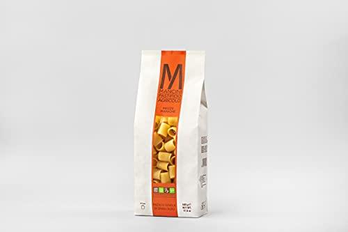 Mancini Pastificio Agricolo - Mezze Maniche 4 kg (8 paquetes de 500 gr)