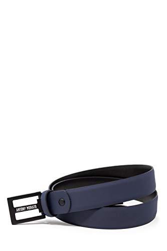 Antony Morato Luxury Fashion heren riem MMBE00396LE100125BLUE blauw