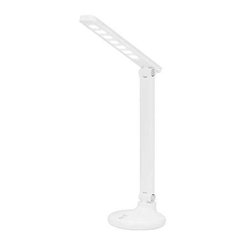 Lámpara Escritorio LED,Lámpara De Escritorio LED Recargable Por Usb Plegable Protección Para Los Ojos Lámpara De Mesa De Lectura Con Atenuación Táctil Para Sala De Estar Oficina Mesita De Noche
