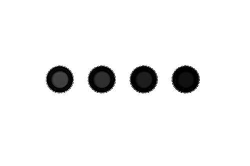 petit un compact DJI Osmo Action ND Filter Kit Part 10-4 filtres ND pour Osmo Action, ND4, ND8, ND16,…