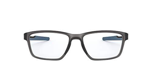 Oakley Metalink Occhiali da Lettura, Grey, 55 Uomo