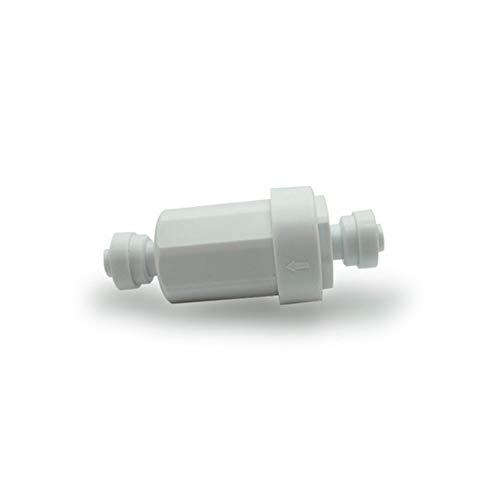 """MINGMIN-DZ Dauerhaft 1/4\"""" Garten-Wasseraufbereitungs Bewässerung Filter Edelstahl-Filter Niederdruck-Spray Filtergerät Quick Connect Lock-Filter (Color : White Filter)"""