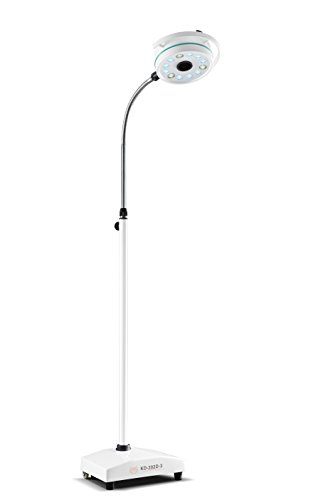 EAST Portable Mobile LED Surgical Exam Light Shadowless Lamp KD-202D-3