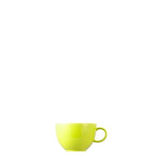 Tasse à Thé Thomas Sunny Day, Mug, Porcelaine, Lime Green / Vert Citron, Compatible Lave-Vaisselle, 20 cl, 14642
