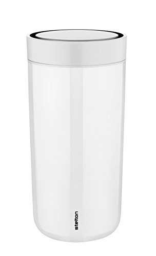 Stelton 580-3 Thermobecher to go Click 340 ml Edelstahl chalk