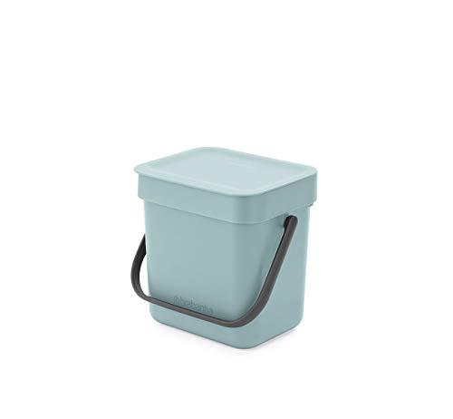 Brabantia Abfalleimer für Lebensmittelabfälle, klein, Minzgrün
