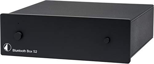 Pro-Ject Bluetooth Box S2, Audiophiler Bluetooth Audioempfänger mit aptX (Schwarz)