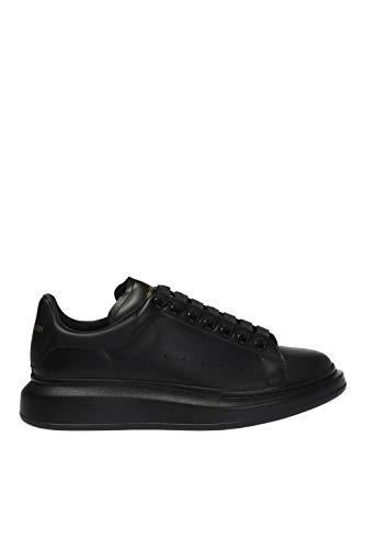Luxury Fashion | Alexander Mcqueen Heren 553761WHGP01000 Zwart Leer Sneakers | Seizoen Permanent