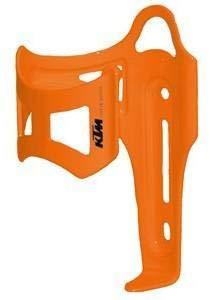 KTM Alu MTB Fahrrad Flaschenhalter - Seitliche Entnahme - Orange