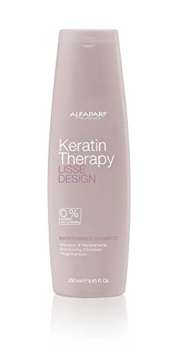 Alfaparf, Lisse Design Keratin Therapy, shampoo di mantenimento, 250 ml (etichetta in lingua italiana non garantita)