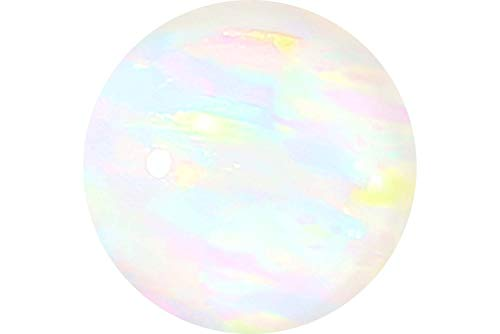 PIERCINGLINE Universelle Klemmkugel | SYNTHETISCHER Opal | Piercing BCR Kugel Ersatz | Farb & Größenauswahl