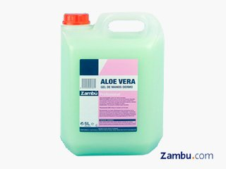 Jabon de Manos Dermoprotector Aloe Vera Garrafa 5L (Caja 2 Garrafas)
