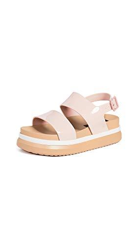 Melissa Women's Cosmic Sandals, Nude/Soft Pink, 8 Medium US