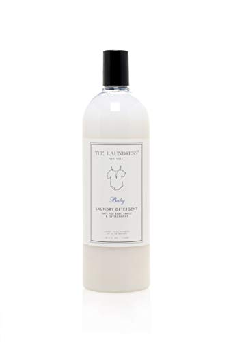 The Laundress - Laundry Detergent, Baby Scented, Liquid Baby Detergent, Tough on Baby Stains & Gentle on Skin, Hypoallergenic Laundry Detergent, 33.3 fl oz, 64 washes