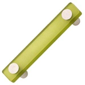 Griff aus Plexiglas, matt, 96 mm, Grün