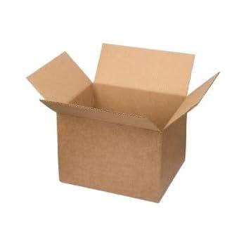 Pack de 5 cajas de cartón sencillo. 4 solapas | Sumicel® (200 x ...