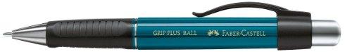 Faber-Castell 140735 - Kugelschreiber Grip Plus Ball, Mine: M, petrol