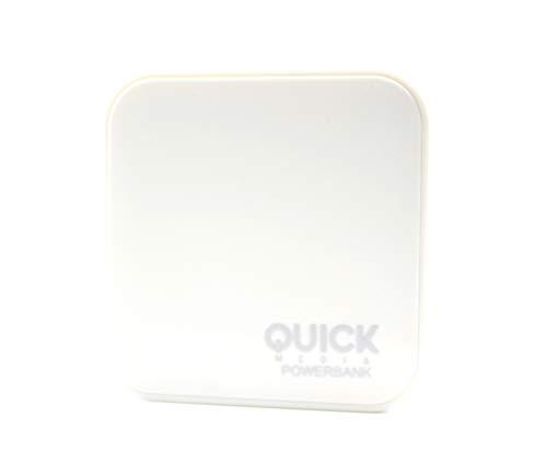 Quick Media PB26 - Batería Externa Pb26 Para Dispositivos Portátiles Con Micro Usb