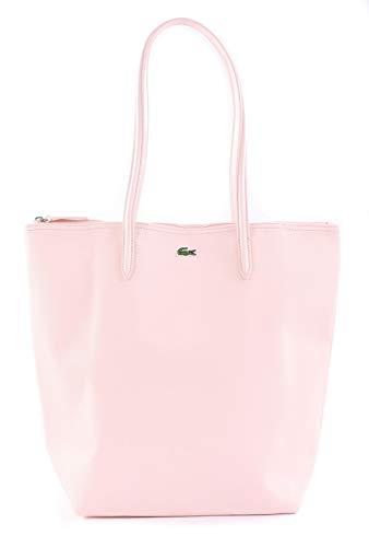 Lacoste Damen L.12.12 Concept Schultertasche, Pink (Pearl), 15.5x35x25.5 centimeters