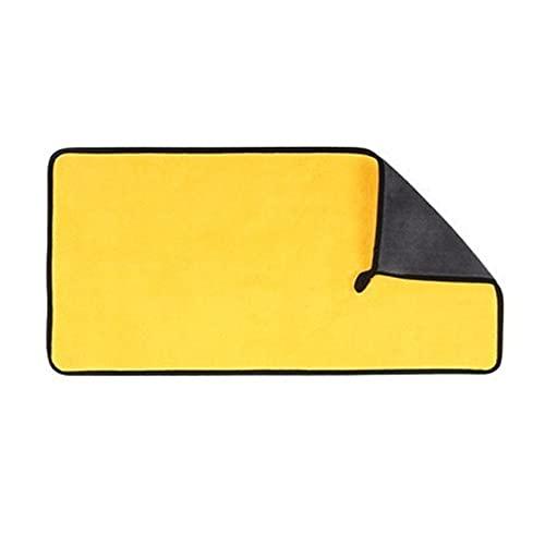 YANGQING QIAOMIN 5/5/1 0pcs 600gsm Lavado De Autos Microfibra Toalla De Coche Limpieza De Coche Secado Paño Cuidado Cuidado Detalle Detalle Lavado De Autos Toalla Limpieza Herramientas