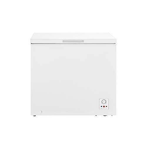 Hisense FC258D4AW1 Gefrierschrank mit Brunnen, 198 Liter, geräuscharm, 40 dB, Weiß, 80,2 x 55,9 x 85,4 cm