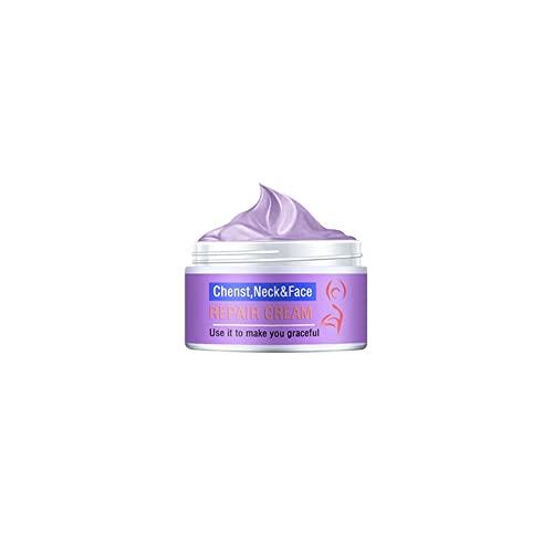 MFLB Crema reafirmante de Cuello, Crema reafirmante Facial, Crema antienvejecimiento acelerada, Recomendado por dermatólogos para reafirmar la Piel (20g)