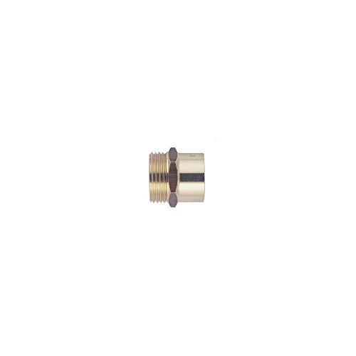 Raccord laiton droit à souder - M 3/8 - Ø 16 mm - Riquier