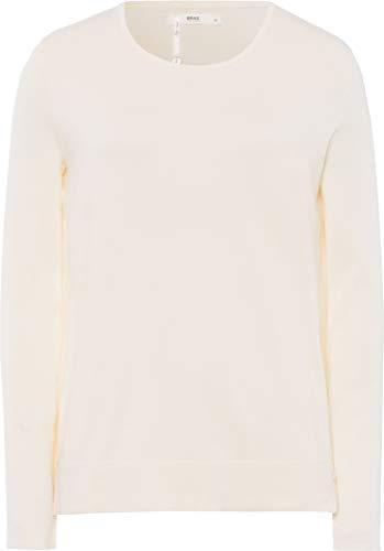 BRAX Damen Style Lisa Pullover, Weiß (Offwhite 98), (Herstellergröße: 38)