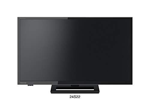 東芝 24V型地上・BS・110度CSデジタル ハイビジョンLED液晶テレビ(別売USB HDD録画対応)REGZA 24S22