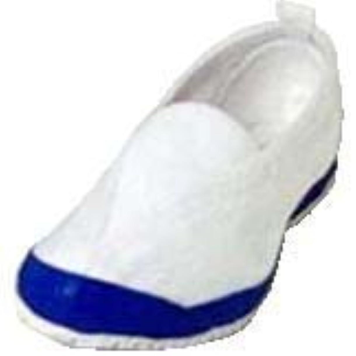 ワゴン見分ける語[ラッキーベル] 校内上履き 体育館履き兼用 カラー2号A コバルト サイズ24.0cm