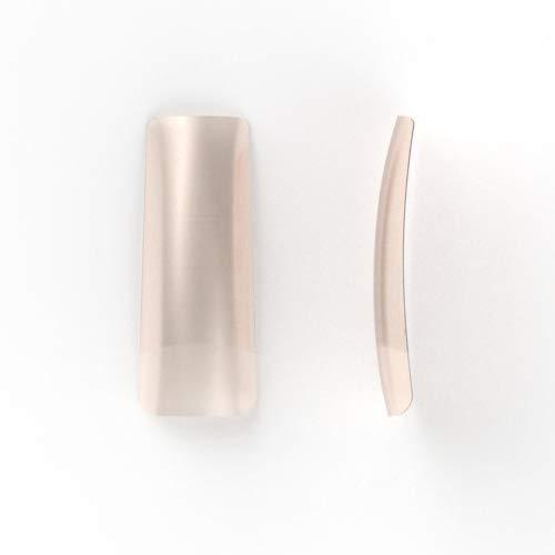NATUREL nail tips, breed opzet/opzetstuk, 100 stuks. Best verkochte nail tips voor FRENCH of NATUREL manicure voor zowel acrylnagels als gelnagels. Voor professioneel gebruik.