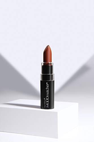 Fran Wilson MOODmatcher Lipstick, DARK BLUE Original Color-Change Lipstick - Maskproof, 12 HOUR Long Wear, Enriched with Aloe & Vitamin E for Ultra-Hydration, Waterproof, Smudgeproof & Kissproof 0.12 Oz (3.5g)