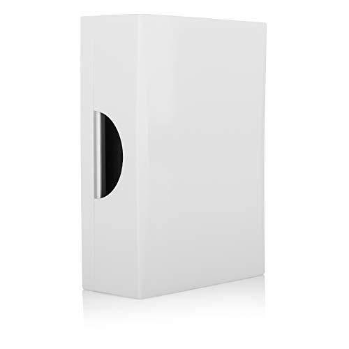 Byron 00.640.80 Puerta alámbrico-Blanco con Sonido clásico de Timbre 771