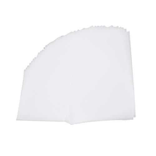 Toddmomy 100 Stück Transparentpapier Transparentes Skizzenpapier Pergamentpapier zum Skizzieren Drucken Zeichnen Comic-Zeichnungsanimation 16K