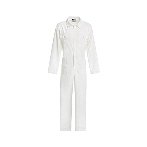 WORK AND STYLE Overall Linie Bianco - Weiß, L